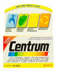 Centrum Advance Complete From A to Zinc - 30 Tablets