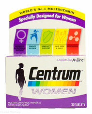 Centrum Women Multivitamin/Multimineral - 30 Tablets