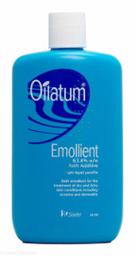 Oilatum® Emollient 63.4% w/w Bath Additive Light Liquid Paraffin - 250ml
