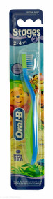 Oral-B® Stages 2 Winnie the Pooh Extra Soft Toothbrush  (2-4 yrs)