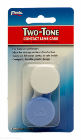 Flents® Two-Tone Contact Lens Case