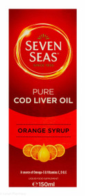 Seven Seas® Pure Cod Liver Oil Orange Syrup - 150ml