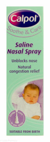 Calpol® Soothe and Care Saline Nasal Spray - 15ml
