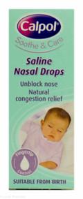 Calpol® Saline Nasal Drops - 10ml