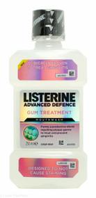 LISTERINE®Advanced Defence Gum Treatment Mouthwash Crisp Mint - 250ml