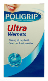 Polygrip® Ultra Wernets Denture Fixative Powder - 40g
