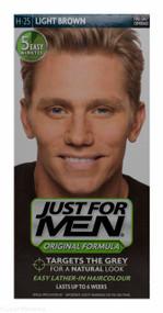 Lucan Pharmacy Just For Men® Original Formula Haircolour Light Brown H-25