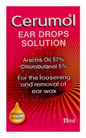 Cerumol® Ear Drops Solution With Dropper - 11ml