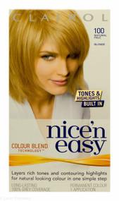 Clairol® Nice'n Easy® - 100 Natural Pale Blonde