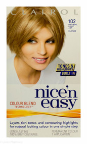 Clairol® Nice'n Easy® - 102 Natural Light Ash Blonde