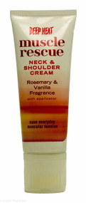 Deep Heat Muscle Rescue Neck & Shoulder Cream With Applicator - 50g