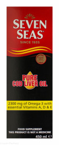 Seven Seas® Pure Cod Liver Oil - 450ml