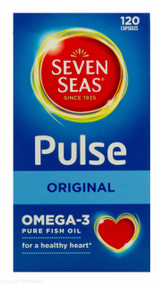Seven Seas® Pulse Original Omega-3 Pure Fish Oil -120 Capsules