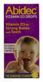 Abidec Vitamin D3 Drops - 25ml