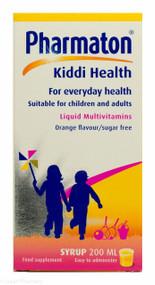 Pharmaton® Kiddi Health Liquid Multivitamins Orange Flavour Sugar free - 200ml
