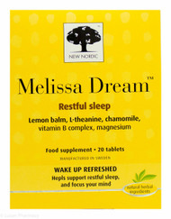 New Nordic™ Melissa Dream - 20 Tablets