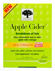 New Nordic™ Apple Cider™ High Strength 720mg - 60 Tablets