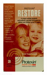 Restore Protexin® Probiotic And Prebiotic for Infants and Children - 30 Sachets