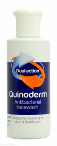 Quinoderm® Dual Action Antibacterial Facewash - 150ml