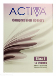Activa® Class 1 Compression Hosiery Thigh Length Large Sand