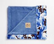 Camouflage Blanket Blue