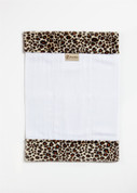 Cheetah Burp Cloth