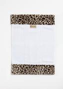 Cheetah Burp Cloth