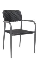 Outdoor Woven Chair Commercial Restaurant Furniture