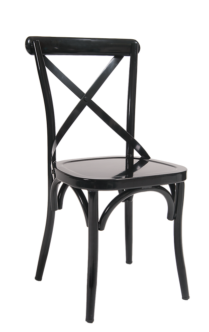 Cross Back Dining Chairs Metal Cross Back Chairs