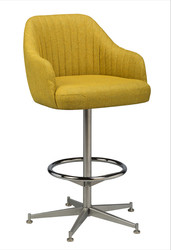 Saddle Bucket Bar Stool - yellow | Seats and Stools