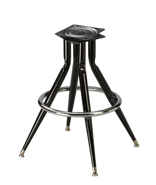 Bar Stool Swivel Base Replacement 4 Legged Pyramid Base