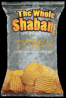 Whole Shabang EXTREME Rippled Chips