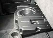 Dodge Ram Quad Cab 2002-07  Passenger Side Subwoofer Box Enclosure DQC110 FREE SHIPPING!
