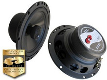 "6.5"" HD-6EX.2 CDT Audio Carbon Fiber 2 Ohm ""Slim"" Coaxial Speaker Pair"