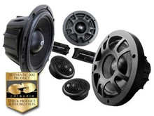 "6.5"" MO-626a CDT Audio 2-Way MOTORCYCLE Component Speaker Set"