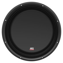 "MTX 35 Series 3512-04S 12"" 300W RMS Single 4 Ohm SHALLOW Subwoofer 3.375"" Depth"