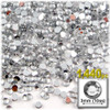 Rhinestones, Flatback, Round, 3mm, 1,440-pc, Clear
