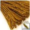 Stems, Sparkly, 20-in, 1000-pc, Gold
