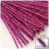 Stems, Sparkly, 20-in, 1000-pc, Pink