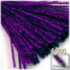 Stems, Sparkly, 20-in, 1000-pc, Purple