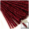 Stems, Sparkly, 20-in, 1000-pc, Red