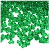 Plastic Tri-Bead, Transparent, 11mm, 200-pc, Light Green