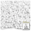 Tribeads, Opaque, Tribead, 10mm, 100-pc, White