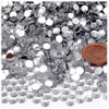 Rhinestones, Flatback, Round, 5mm, 1,000-pc, Clear