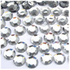 Rhinestones, Flatback, Round, 12mm, 144-pc, Clear