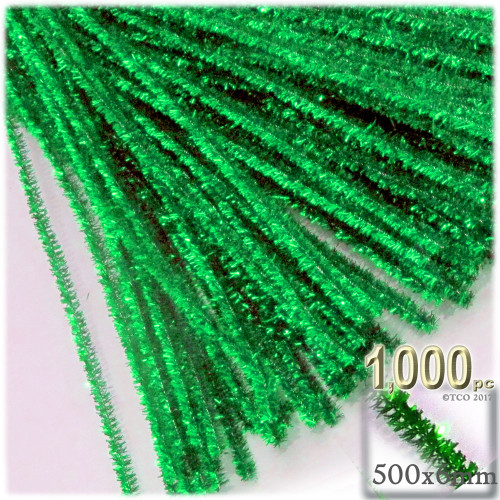 Stems, Sparkly, 20-in, 1000-pc, Light Green