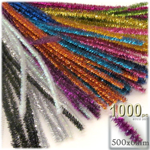 Stems, Sparkly, 20-in, 1000-pc, Mixed Pack
