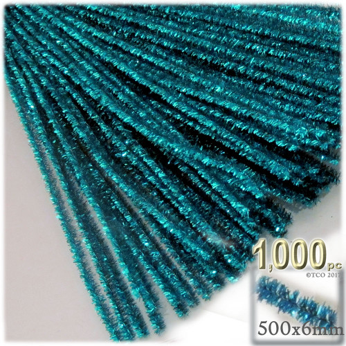 Stems, Sparkly, 20-in, 1000-pc, Ocean Blue