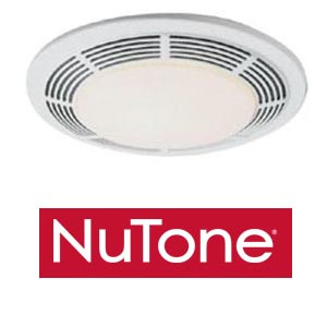 Nutone 8663rp Deluxe Exhaust Fan With Light Amp Night Light