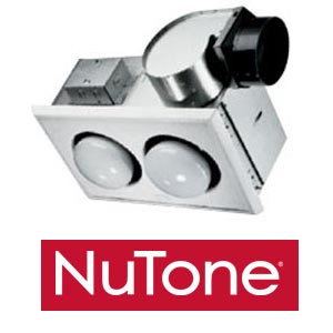 Nutone 9427p 2 Bulb Heater With Exhaust Fan